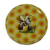 Wieczko fi 82 pszczoła wzór 13 - 50 szt.