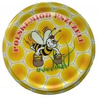 Wieczko fi 82 pszczoła wzór 19 - 50 szt.