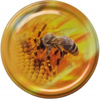 Wieczko fi 82 pszczoła wzór 24 - 50 szt.