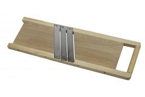 Szatkownica 3 nożowa 46,5cm z rączką *0213