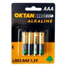 Baterie alkaliczne max Oktan LR03/AAA
