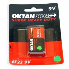 BATERIE OKTAN MAX 6F22 9V