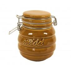 Pojemnik ceramiczny hermetyczny 0,5l do miodu