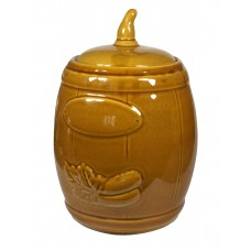 Beczka ceramiczna na ogórki 3,5l + szczypce GRATIS