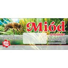 Etykieta pszczelarska - 100 szt. Wzór 22