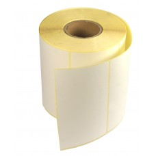 Etykiety samoprzylepne białe 100x60mm + GRATIS