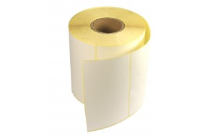 Etykiety samoprzylepne białe 70x34mm + GRATIS