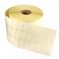 Etykiety samoprzylepne białe 20x32mm + GRATIS