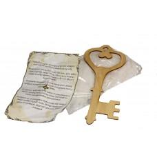 Klucz andrzejkowy 23cm - zestaw + GRATIS