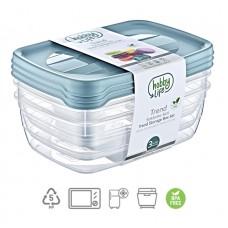 Pojemnik na żywność TREND BOX 0,3l 3szt *8854