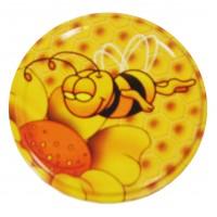 Wieczko fi 66 pszczoła wzór 6 - 50 szt.