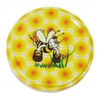 Wieczko fi 66 pszczoła wzór 7 - 50 szt.