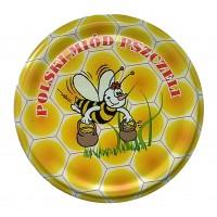 Wieczko fi 66 pszczoła wzór 8 - 50 szt.