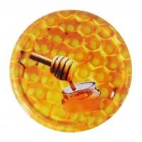 Wieczko fi 66 pszczoła wzór 9 - 50 szt.