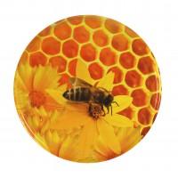 Wieczko fi 66 pszczoła wzór 5 - 50 szt.