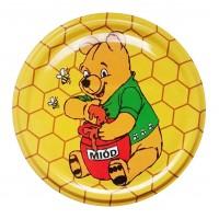 Wieczko fi 82 pszczoła wzór 23 - 50 szt.