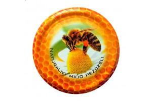 Wieczko fi 82 pszczoła wzór 17 - 750 szt.