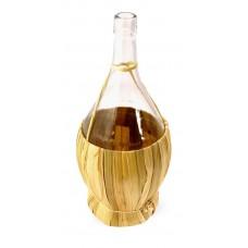 Balon do wina 1 L w koszu ze słomki + GRATIS