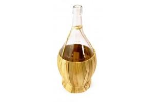Balon do wina 2 L w koszu ze słomki + GRATISY