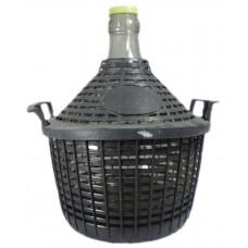 Balon do wina 5 L w koszu plastikowym + Gratisy