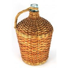 Balon butla do wina 10L Pełna Wiklina+korek gratis