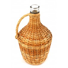 Balon butla do wina 3L Pełna Wiklina+korek gratis
