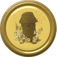 Wieczko fi 82 pszczoła wzór 2 - 50 szt.